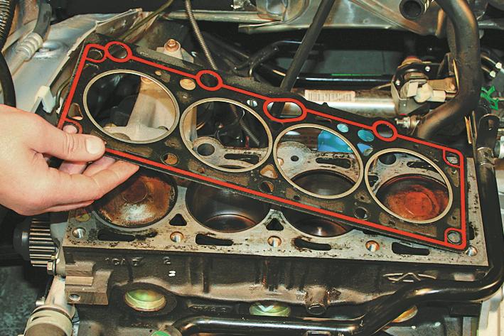 Замена прокладки гбц 2110 8 клапанов своими руками