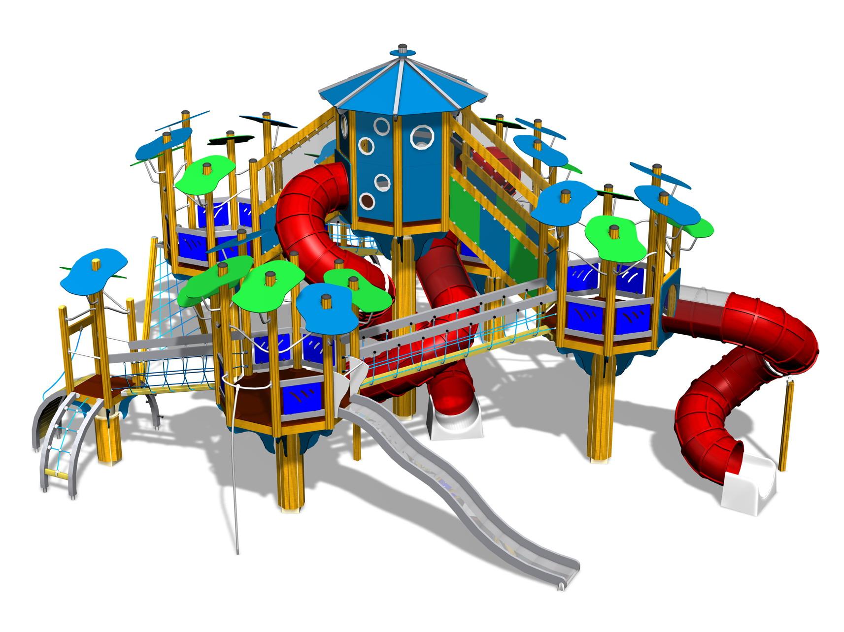 Лучшие игровые детские площадки