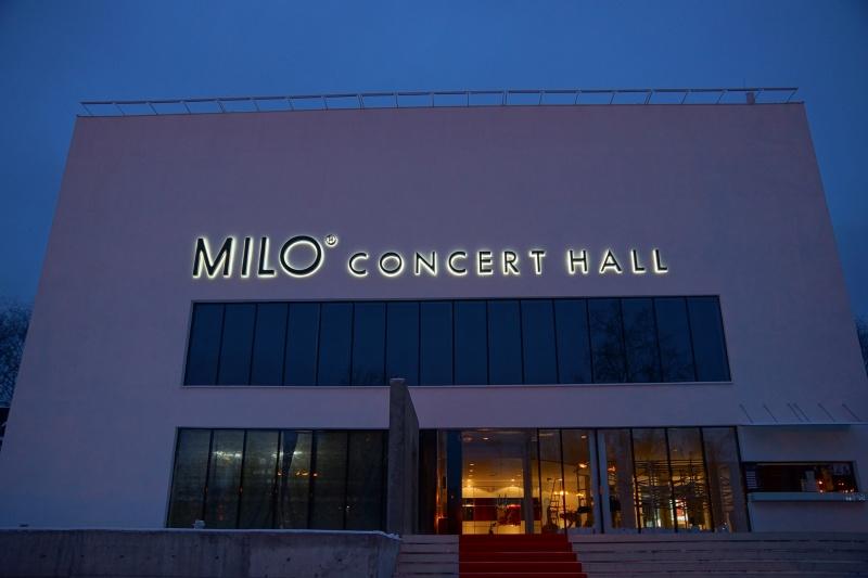 Мило концерт холл фото